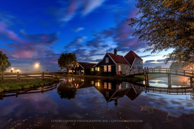 Beautiful Holland by costasganasosphotography - The Blue Hour Photo Contest