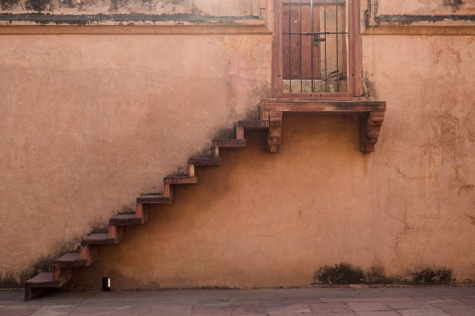 Stairs to nowhere by leannescherp - Stairways Photo Contest