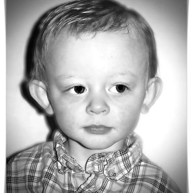 My youngest son of three boys.
