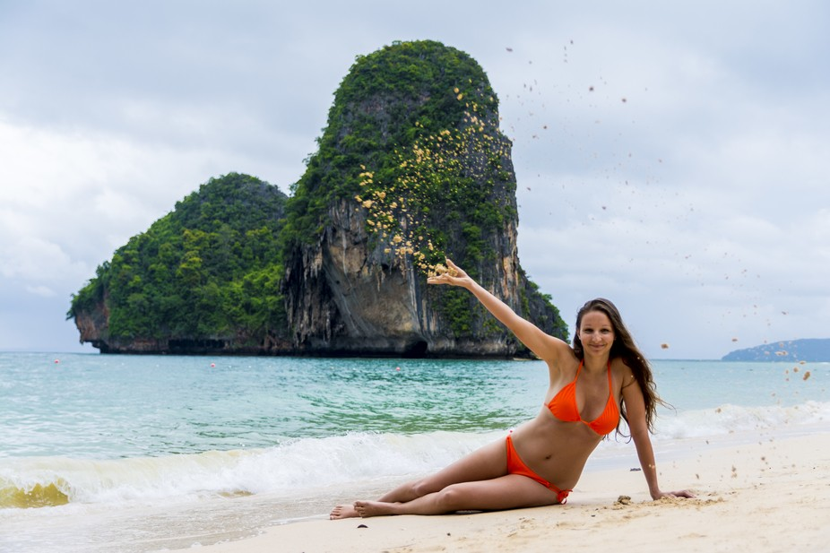 1st travel trip to Thailand. Perfect holiday with this perfect girl