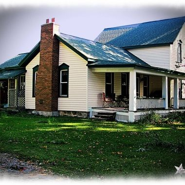 The house I grew up in though repainted since I lived there. In Williamsburg, Michigan.