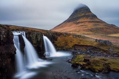 The Kirkjufellsfoss