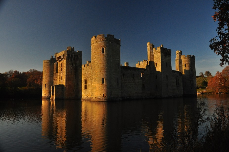 One my first date with my partner we came across Bodiam Castle and this made a great memory of ou...