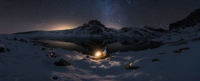 Alone with the stars by Juliocastropardo - Outdoor Camping Photo Contest