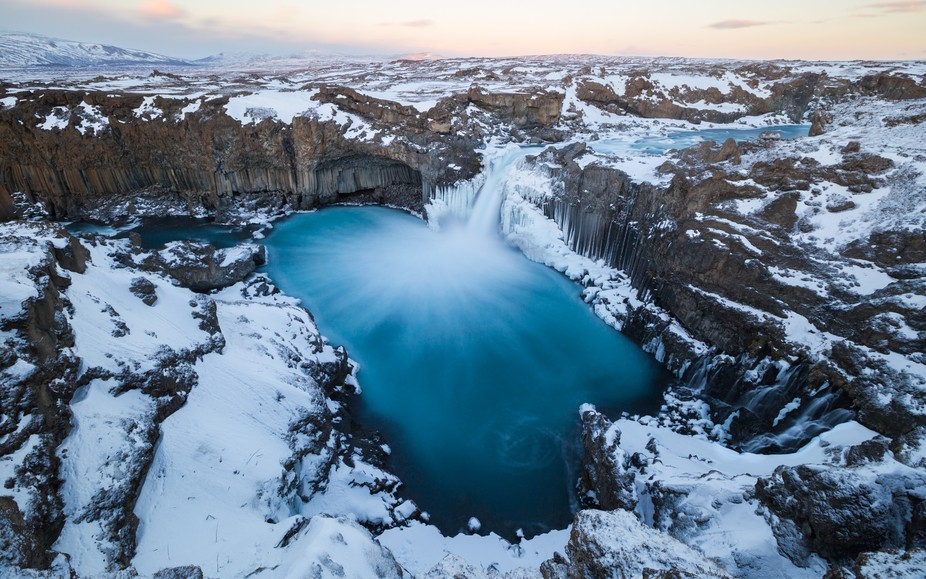 Aldeyjarfoss in the highlands of Northern Iceland. One of the most spectacular sights I have ever...
