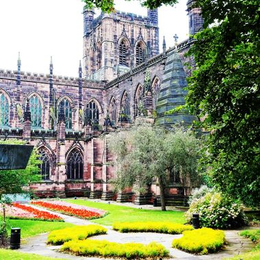 On a short break to Chester loved this beautiful Cathedral,on walk around the city walls close to  city centre