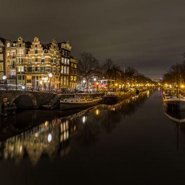 Papiermolensluis Canal in Amsterdam