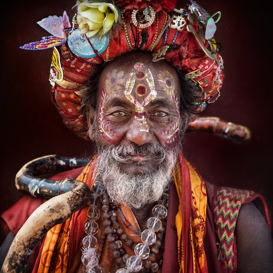 The wandering pilgrim by Ethos - Cultures of the World Photo Contest