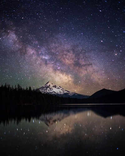Lost among the cosmos at Lost Lake