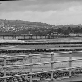 Colwyn Bay Pier is a grade 2 listed piece that has just been demolished