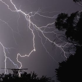 last nights electrical storm