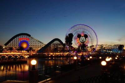 Paradise Pier at Disneyland Anaheim California
