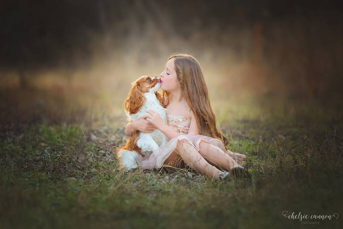 Puppy Love by Chelsie_Cannon - People And Animals Photo Contest