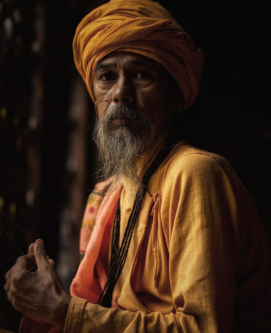 Yogi in Nepal by millerb3 - The Face Of A Man Photo Contest
