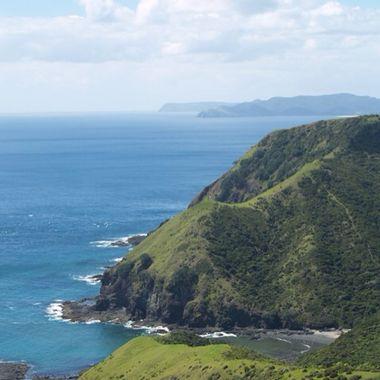 New Zealand coast north island