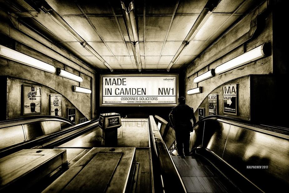 – Made in Camden – Camden Town Underground station London, 2016