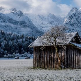 Winter starts in Garmisch Partenkirchen...  I took this picture a few days before I left germany to travel around the world for a second time. It...
