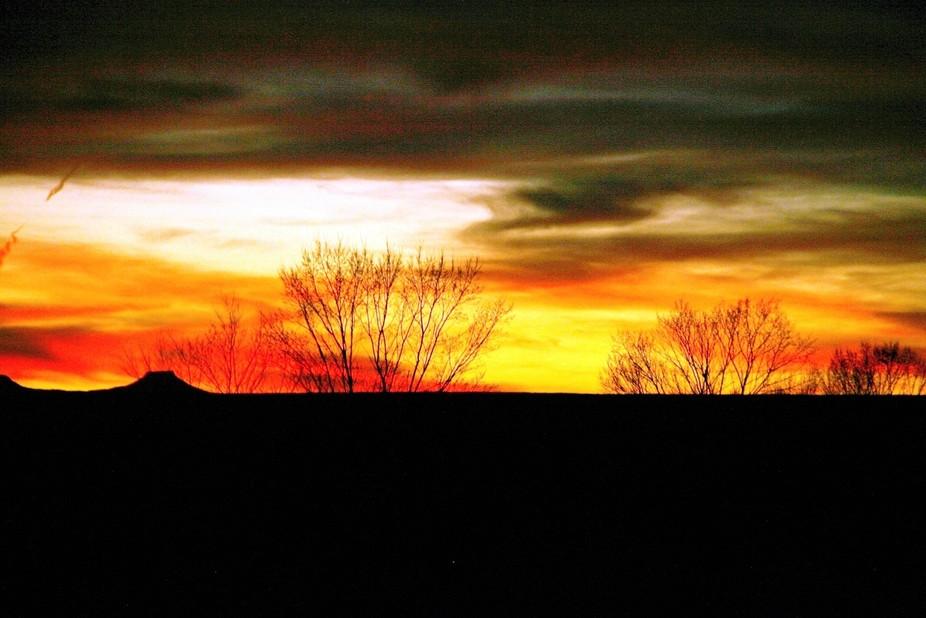 evening in Santa Fe