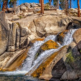 Sierra Waterfall
