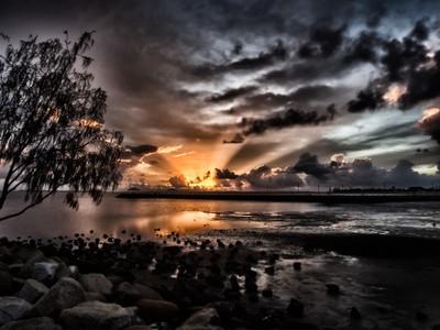 Wynnum sunrise