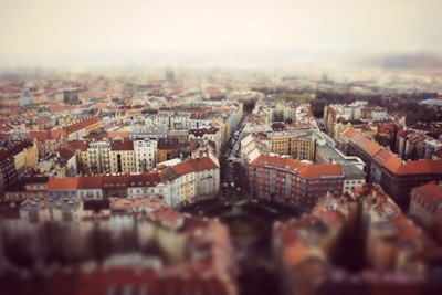 Prague in small