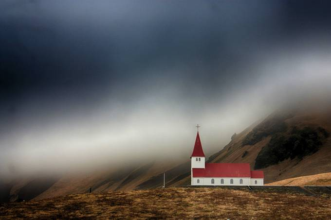 Icelandic Church by EnfocarPhotography - Isolated Photo Contest