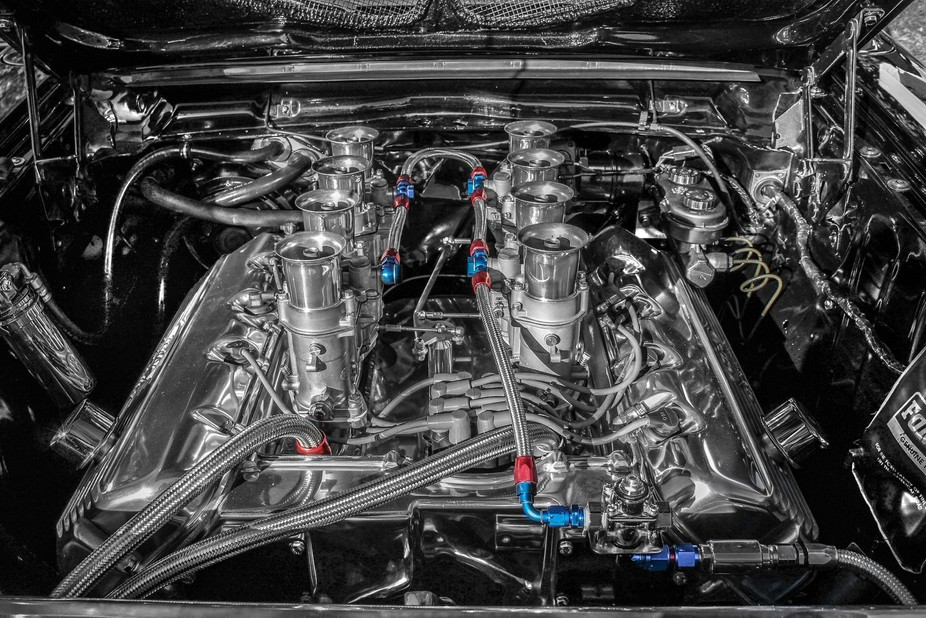 One of my favorite Ford engines. The Ford Hemi. 427 SOHC. Better known as the cammer. It was nes...