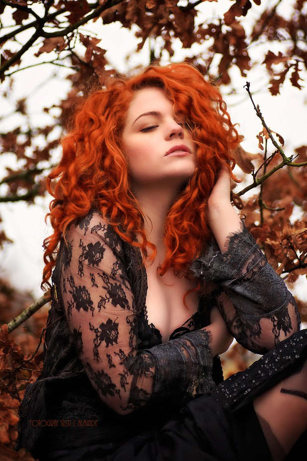 Blondes Are Wild And Brunettes Are True But You Never Know What A Redhead Will Do. by sussicharlottealminde - Curls Photo Contest