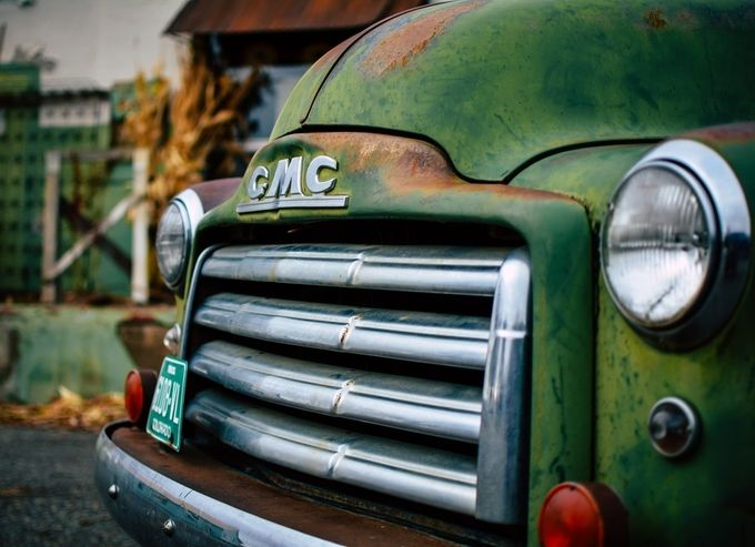 GMC Truck by The_Whitography_Project - Letters And Words Photo Contest