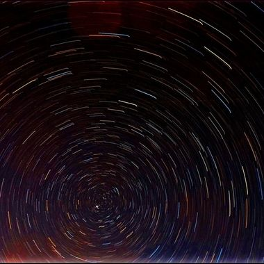 Star trails ramped up
