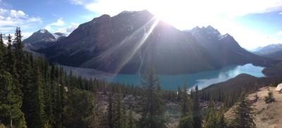 Sunshine at Peyton Lake