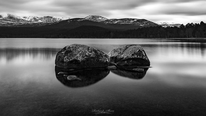Aviemore, Scotland by RichardShore - Black And White Mountain Peaks Photo Contest