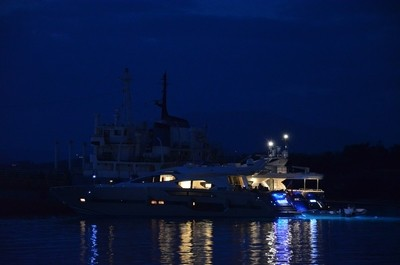 Yacht at Spetses
