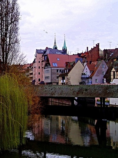 Reflections of old Nuremberg