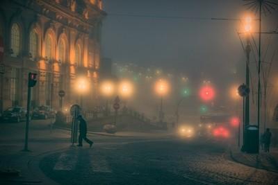 Early Morning Porto Fog