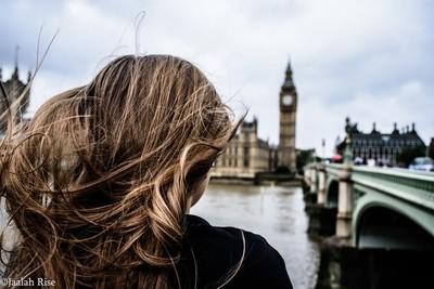 Windy London Day