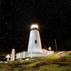 Pemaquid Point Lighthouse sits on the coast of Bristol, Maine, December 27, 2016. (Hal Cook)