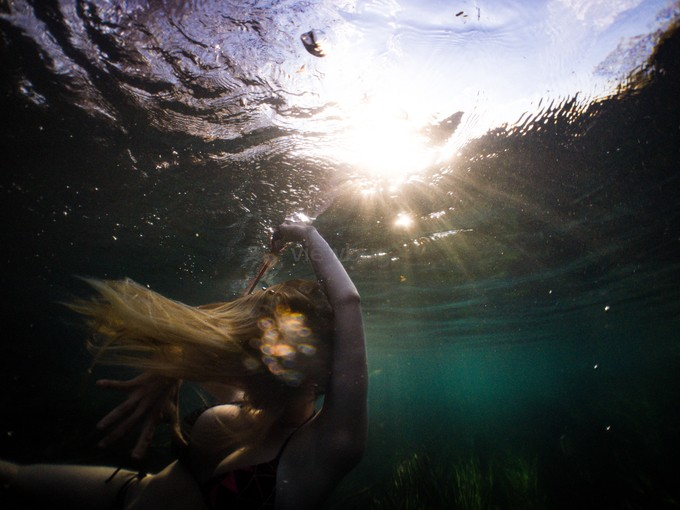 Drowning  by zacwitte - Experimental Light Photo Contest