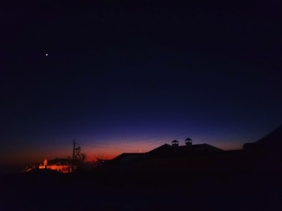 Sunset in Azerbaijan