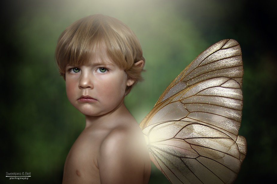 Just a fairy.........in abit of a mood.