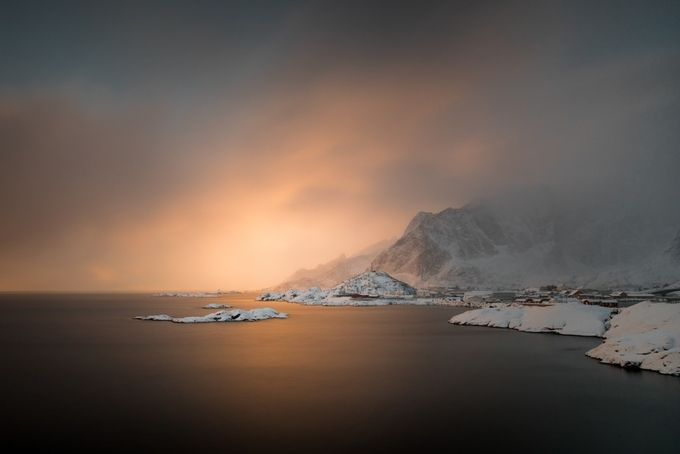 Lofoten at Dawn by NatashaHaggard - Towns In The Winter Photo Contest