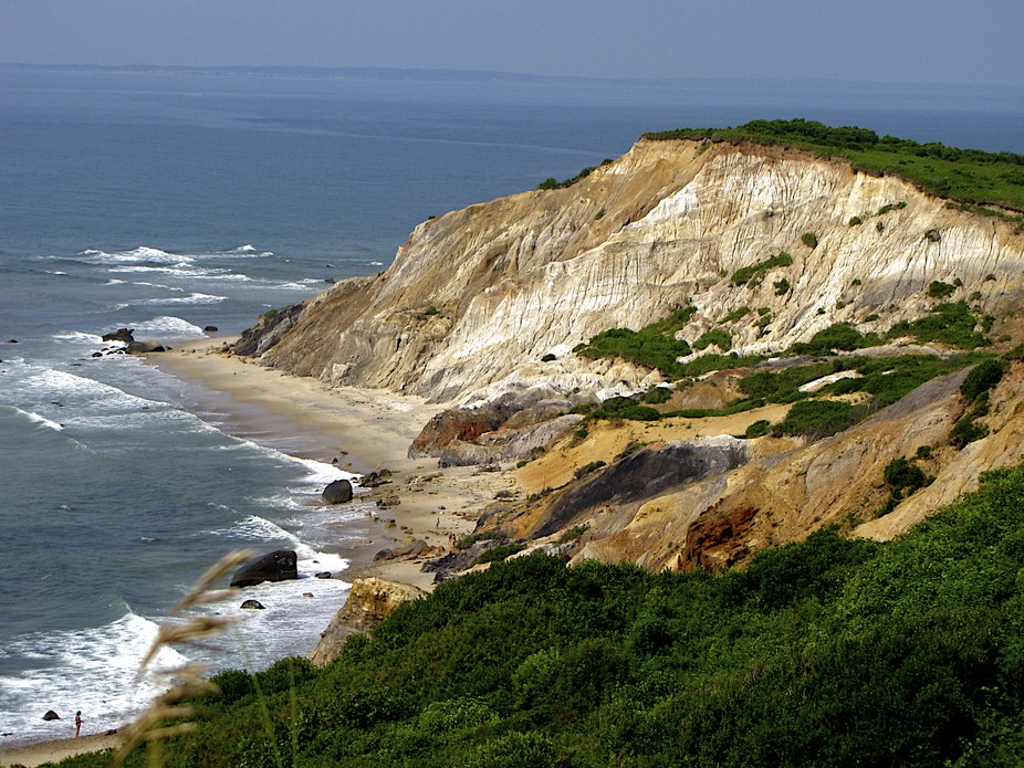 Named for its colorful strata, these beautiful cliffs are located in the small town of Aquinnah o...