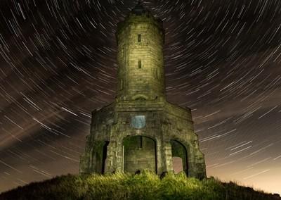 Darwen Tower On A Starry Night