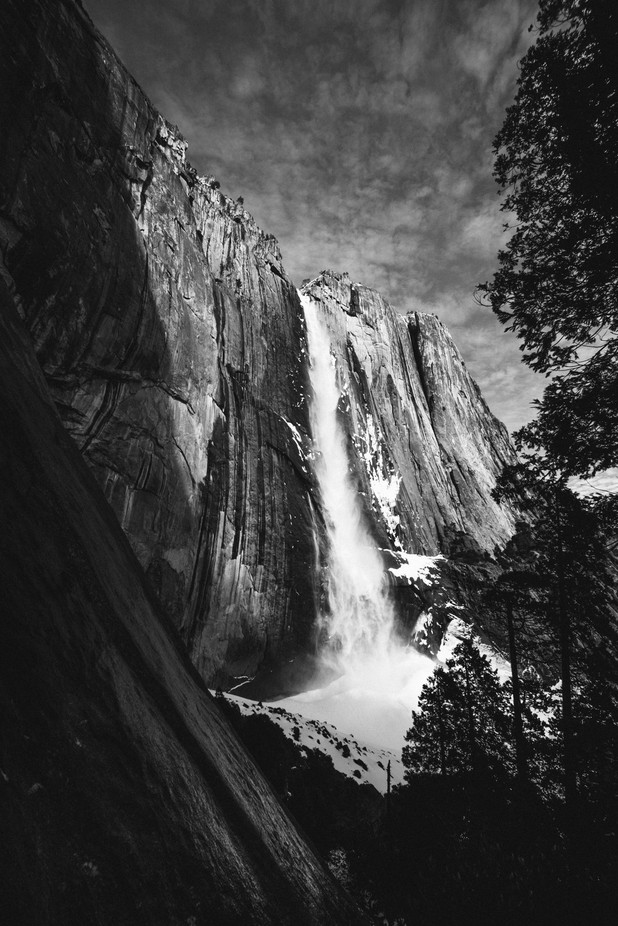 Yosemite Falls by Codishots - Black And White Landscapes Photo Contest