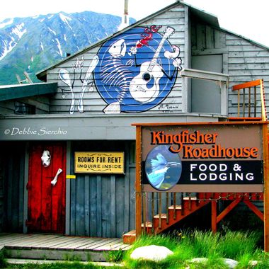 My favorite restaurant on Kenai Lake, it was closed on our trip south to Homer, AK.