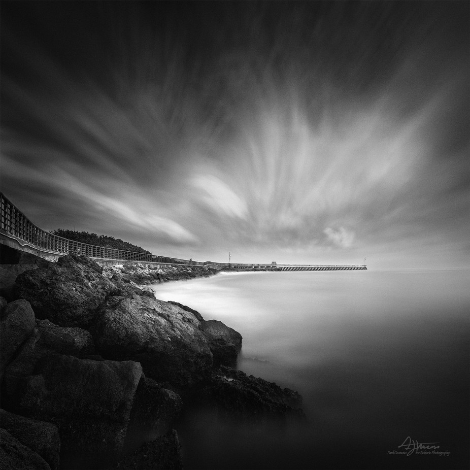 Sebastian Inlet by FredGramoso - Black And White Landscapes Photo Contest