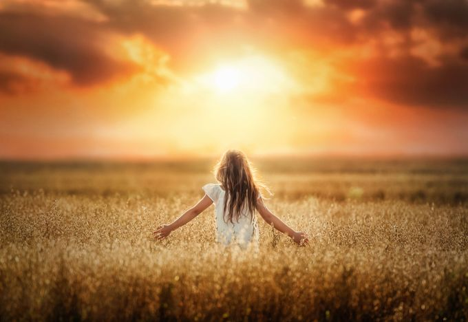Stardust Soul by emwillphotos - Children In Nature Photo Contest