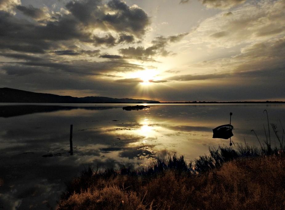 Laguna Orbetello Sunset