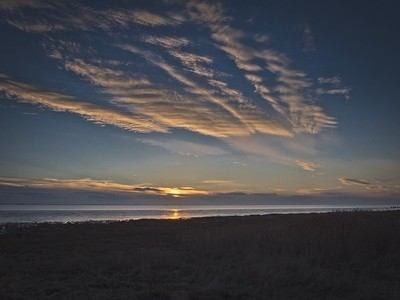 Spurn Point Sunset