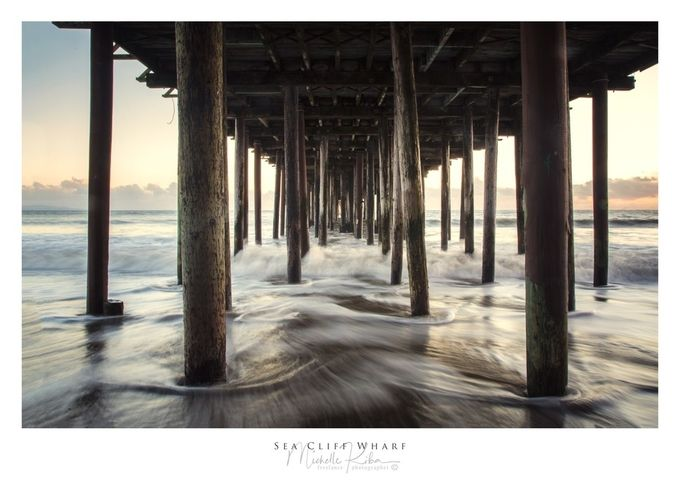 Sea Cliff Wharf by michellekiba - The View Under The Pier Photo Contest